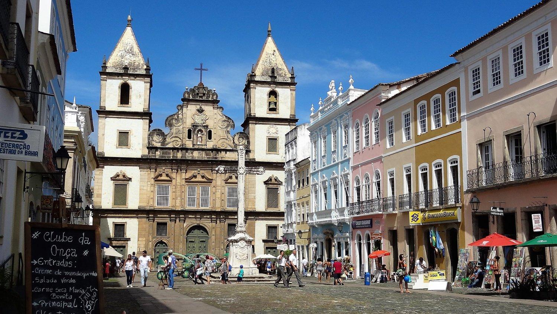 De wijk Pelourinho