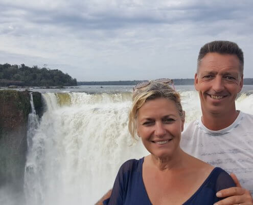 Iguazu watervallen Garganta del Diablo