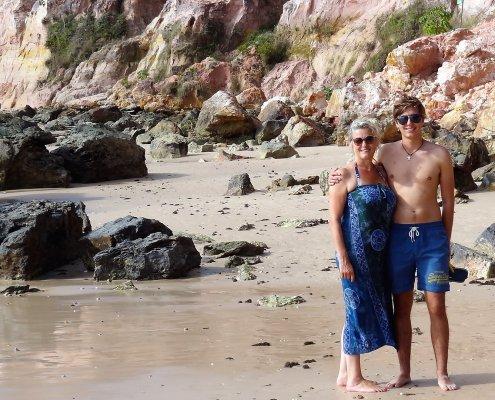 Morro praia de Gamboa