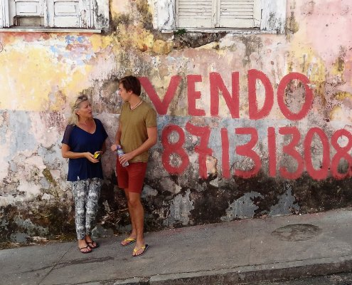 Pelourinho straatbeeld