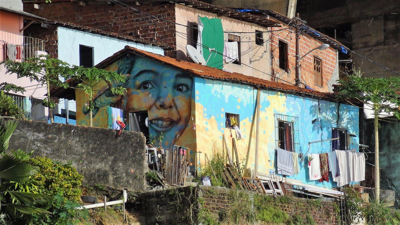 Salvador de Bahia favelakunst