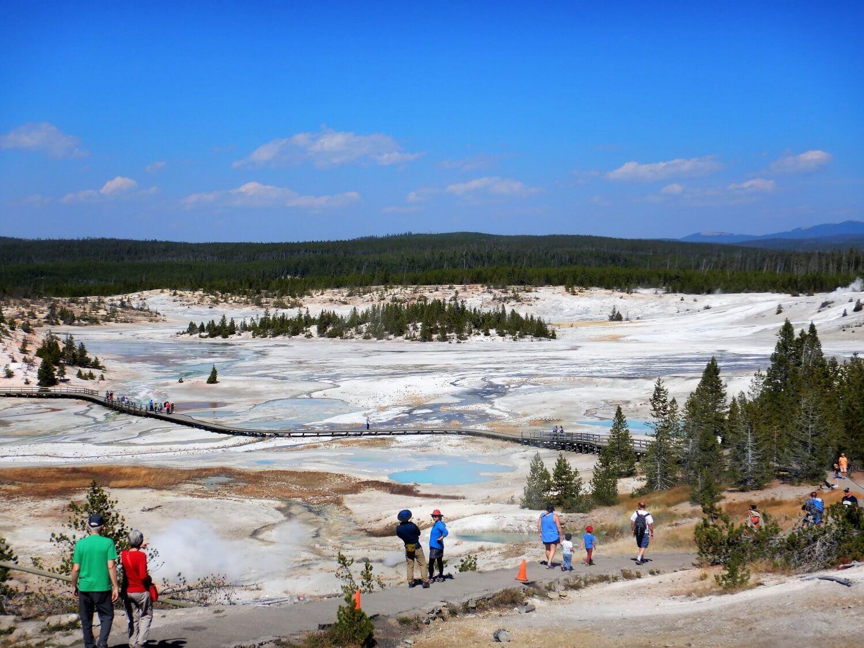 Yellowstone Porcelain Basin