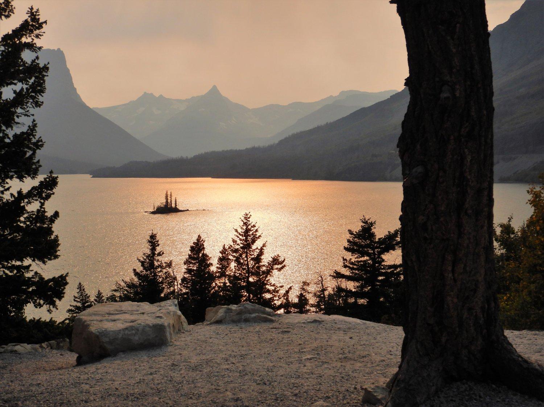 Glacier Wild Goose Island