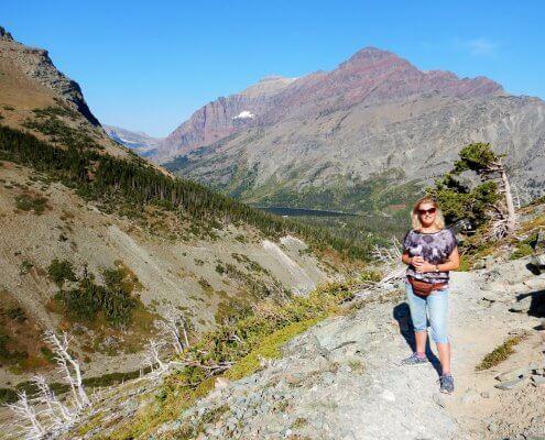 Glacier wandeling Medicine Lake