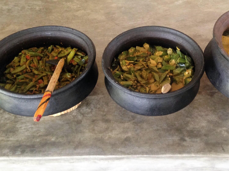 Sri Lanka Vegetarische Curry