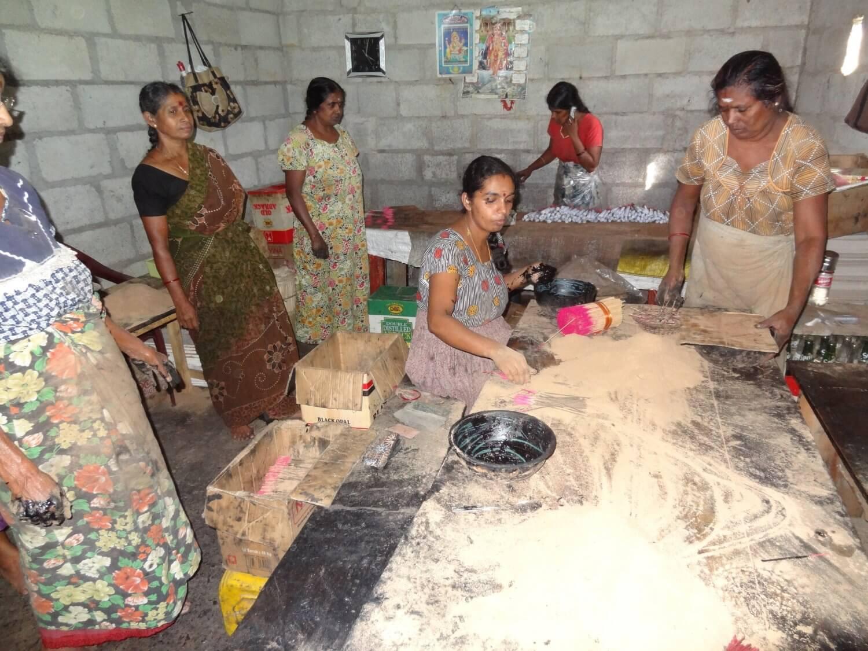 Sri Lanka Wierookfabriek