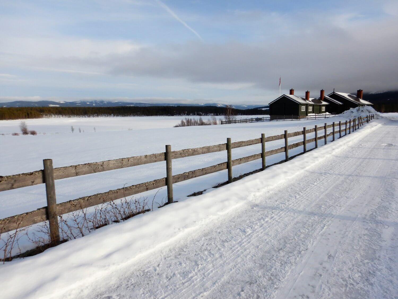 Noorwegen sneeuwlandschap