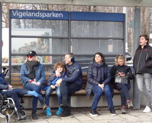 Oslo Tramhalte Vigelandpark