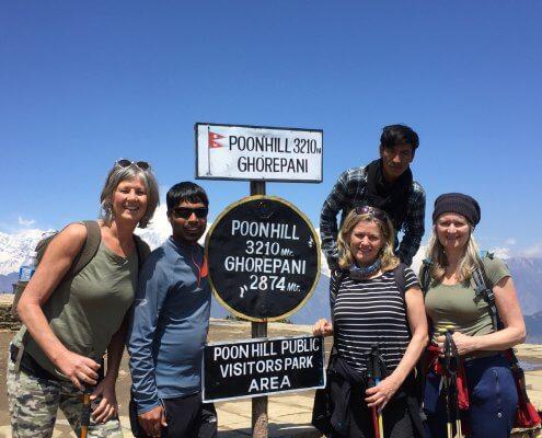 Poonhilltrek Poonhill