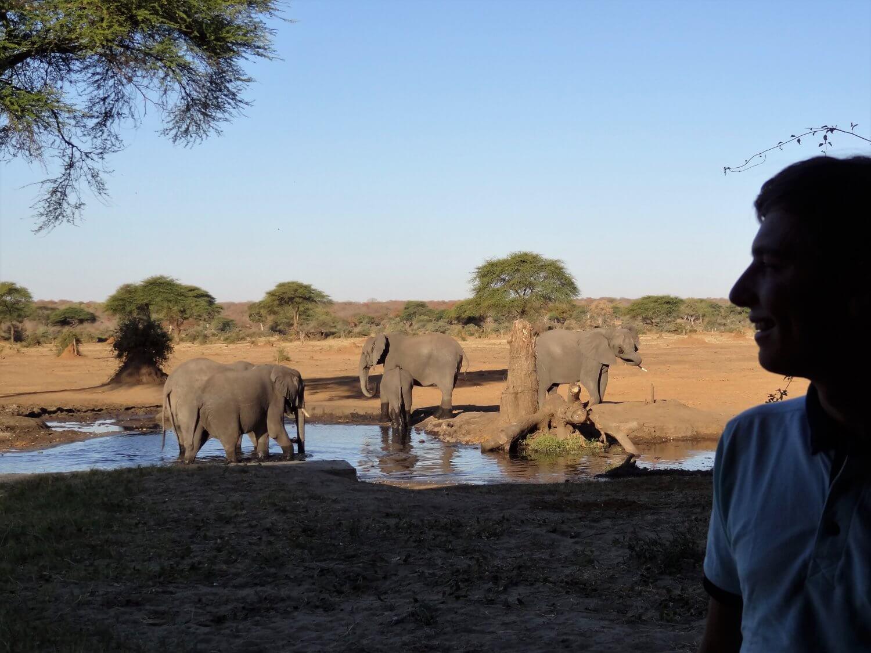Botswana Senyati uitzicht
