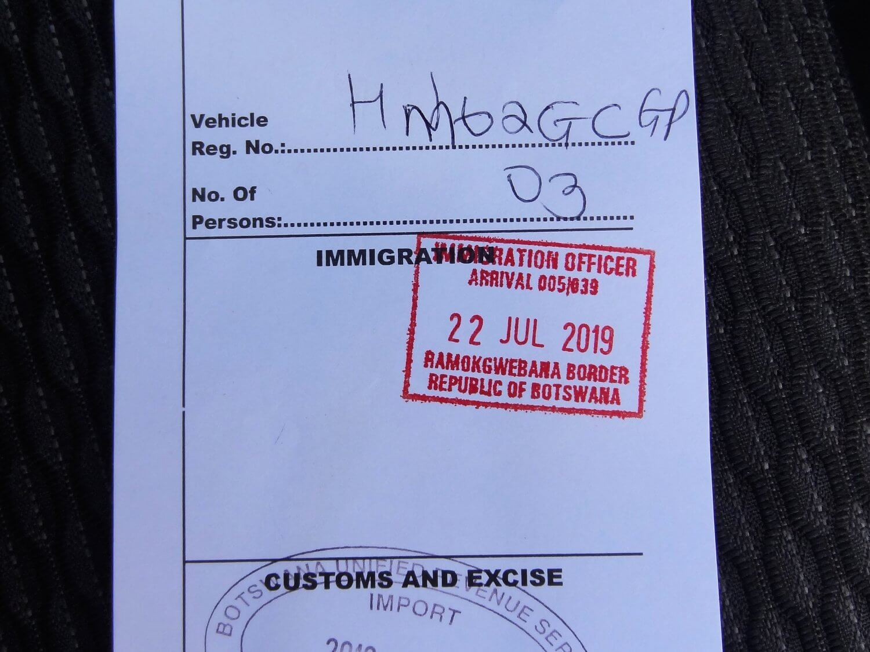 Zimbabwe de gatepass